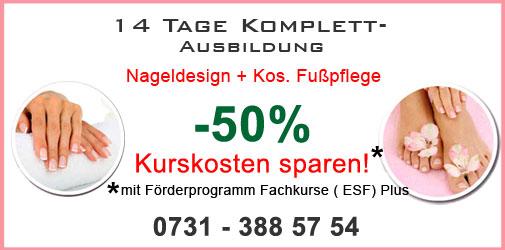 Bayern Nageldesign Komplettausbildung günstig