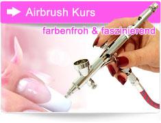 Airbrush Kurs Nageldesign Bayern